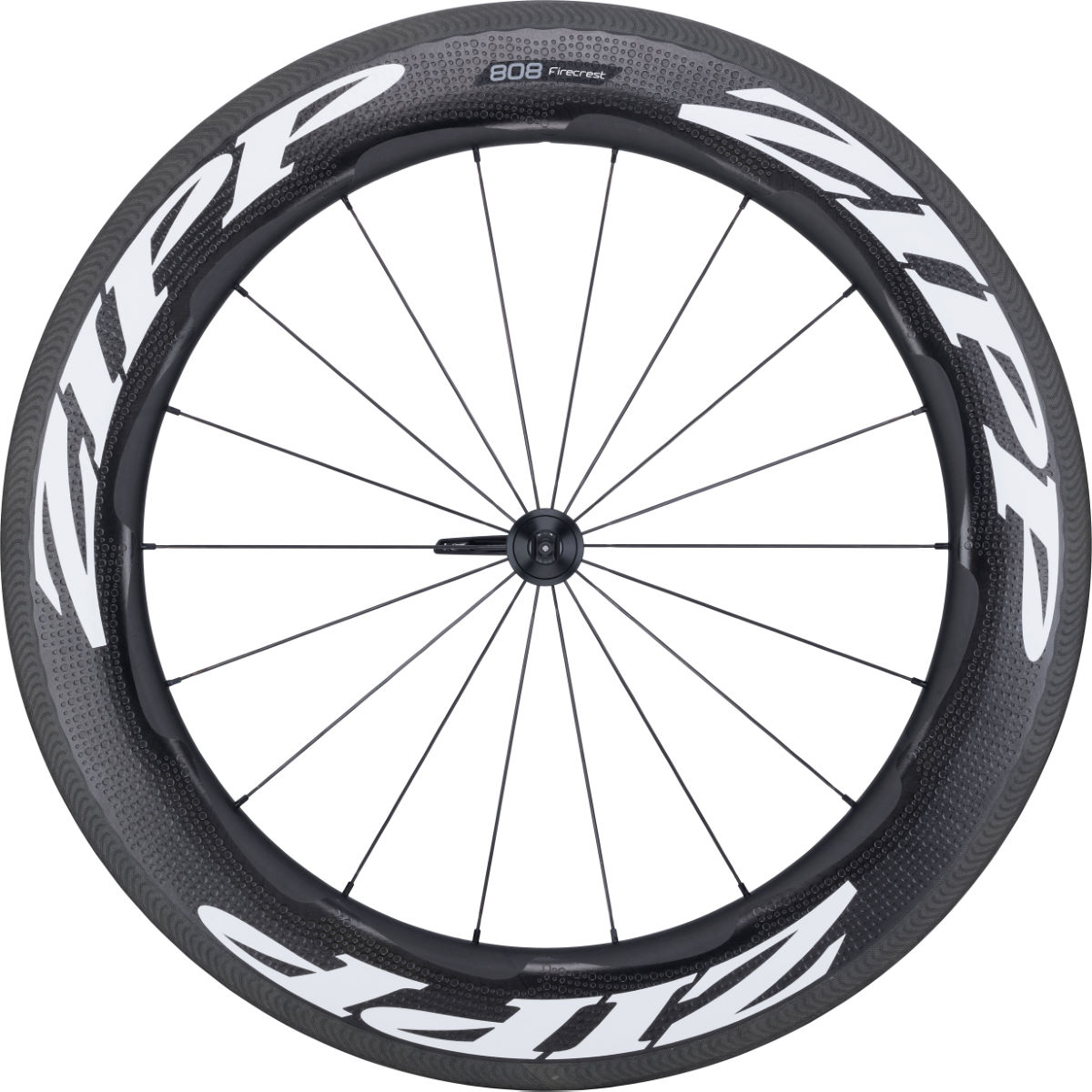 Zipp 808 Carbon Clincher Front Wheel (QR)   Front Wheels