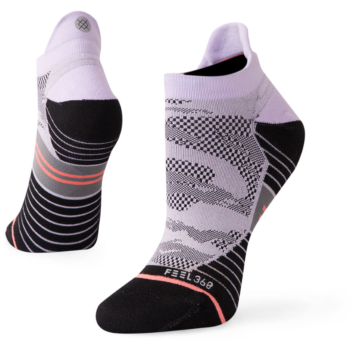 Stance Women's GPS Camo Run Tab Socklet - Calcetines