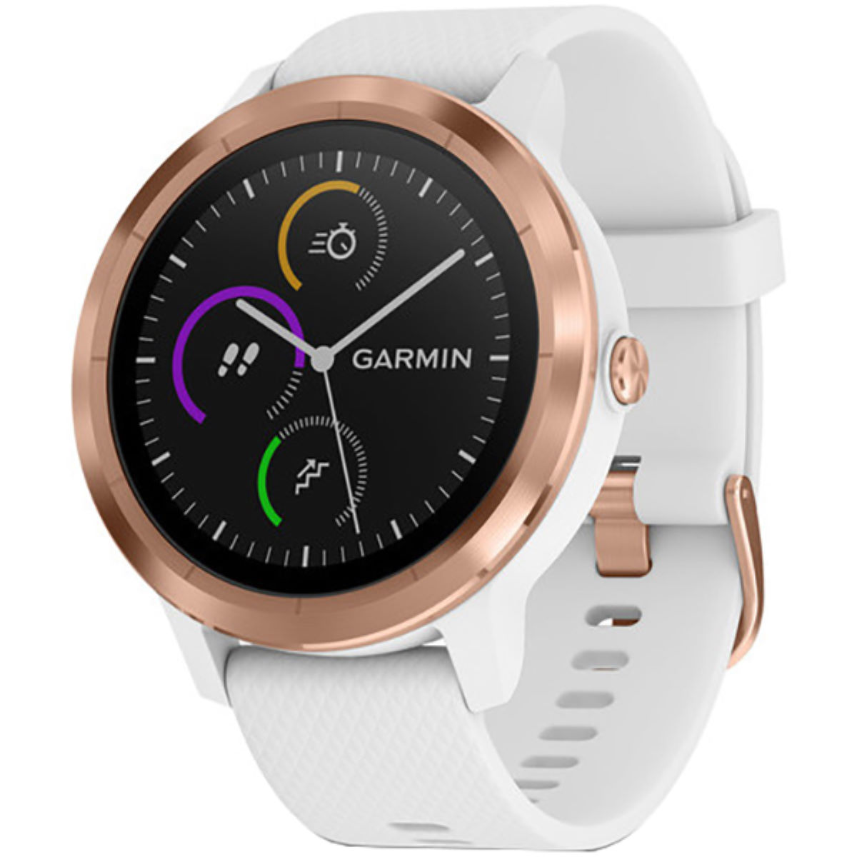 Garmin Garmin Vivoactive 3 GPS Smartwatch Silicone   Watches