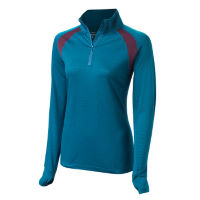 FINDRA Womens Iona Zip Neck Top
