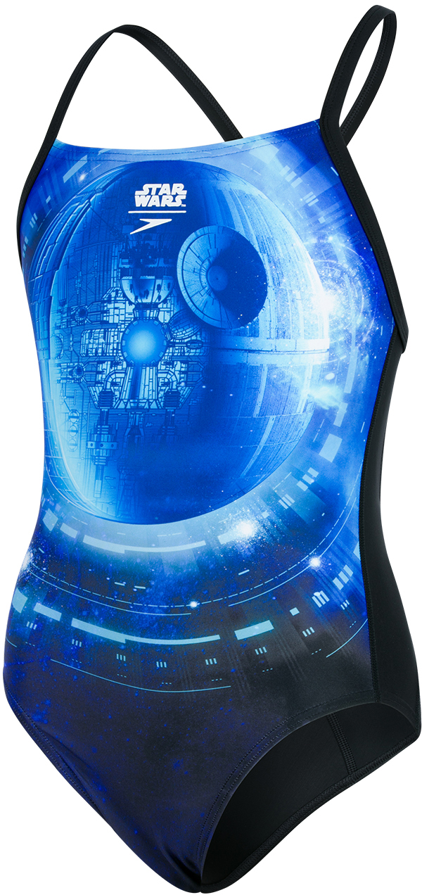 Speedo Star Wars Allover Thinstrap Crossback | swim_clothes