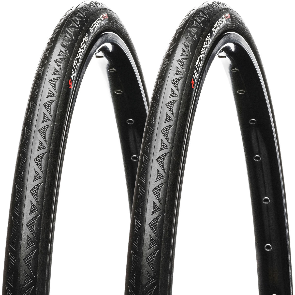 Hutchinson Hutchinson Intensive 2 Tubeless Folding Road Tyres - Pair   Tyres