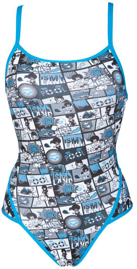 Arena Women's Comics Super Fly Back One Piece Swimsuit | swim_clothes