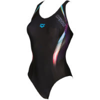 Arena Womens Fluency One Piece V Back Swimsuit