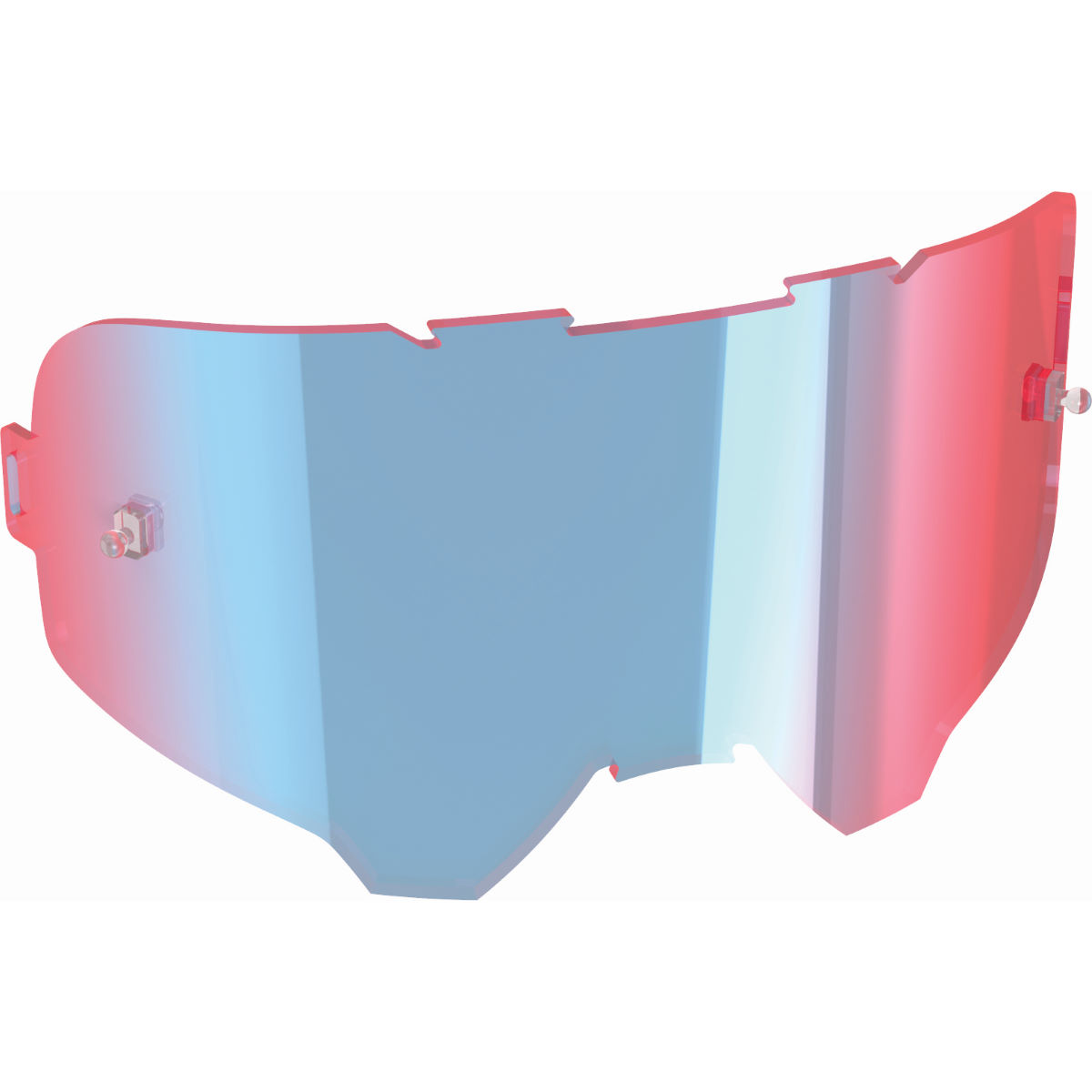 Leatt Iriz Mirror Lens - One Size Ultra Contrast Blue