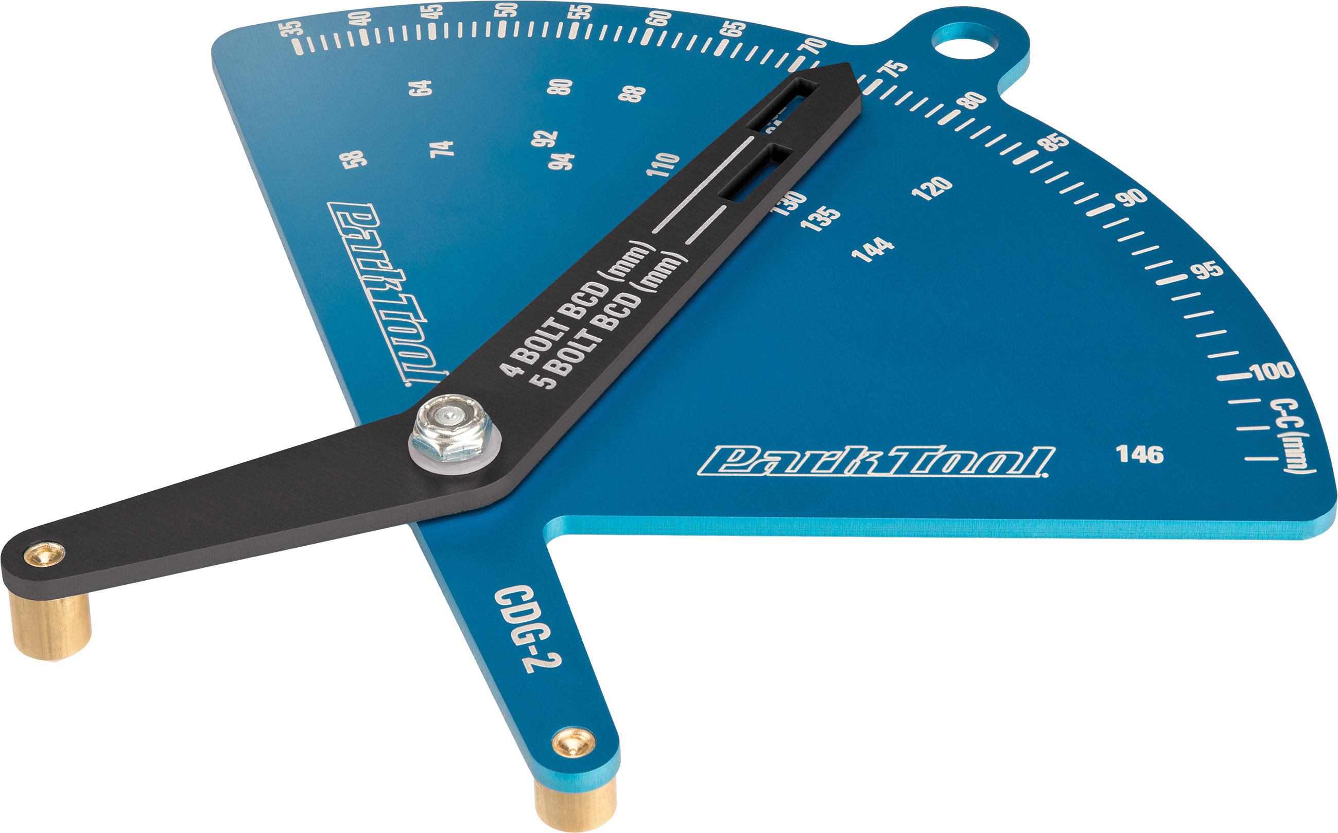 Park Tool Chainring Diameter Gauge CDG-2 | chainrings_component