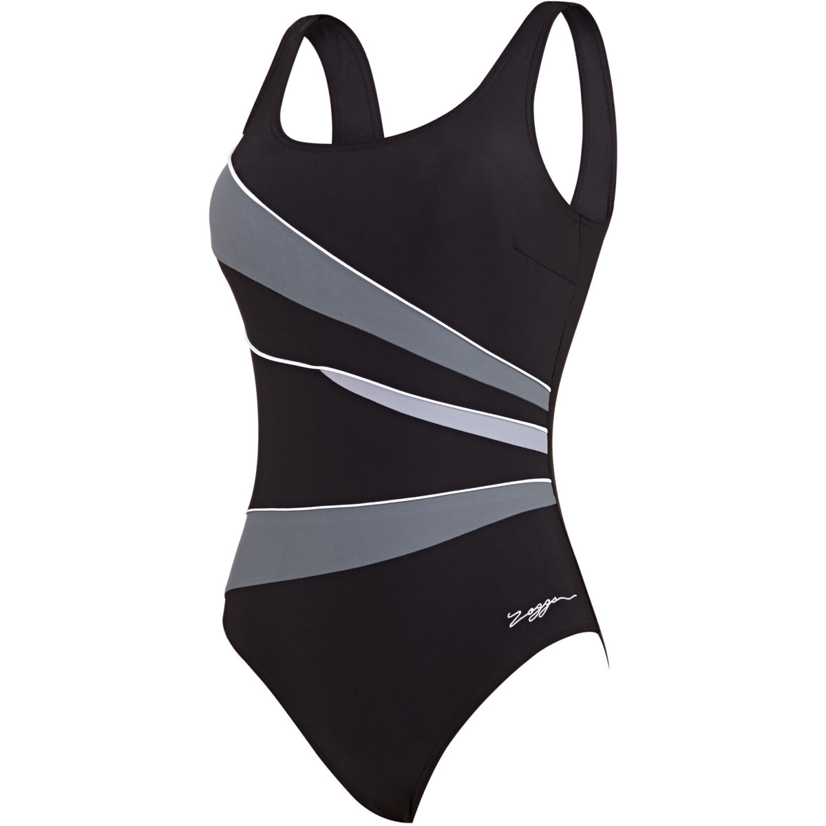 Image of Zoggs Womens Casuarina Scoopback One Piece Swimsuits