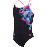 Zoggs Girls Kitch Chaos Sprintback