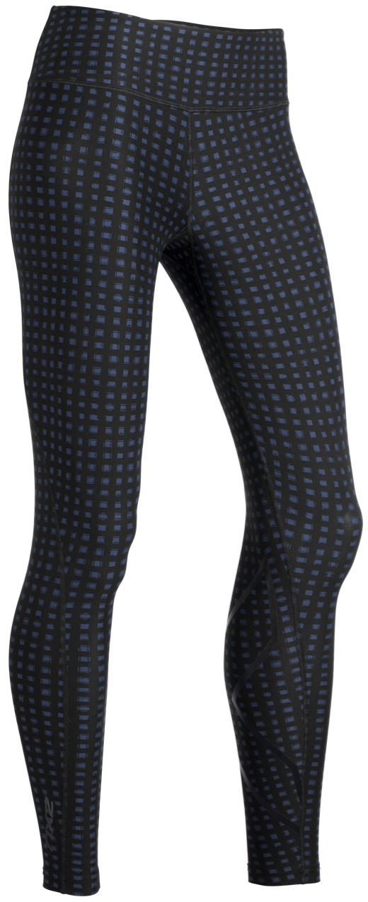 2XU Women's Print Mid-Rise Compression Tights - Camisetas de compresión