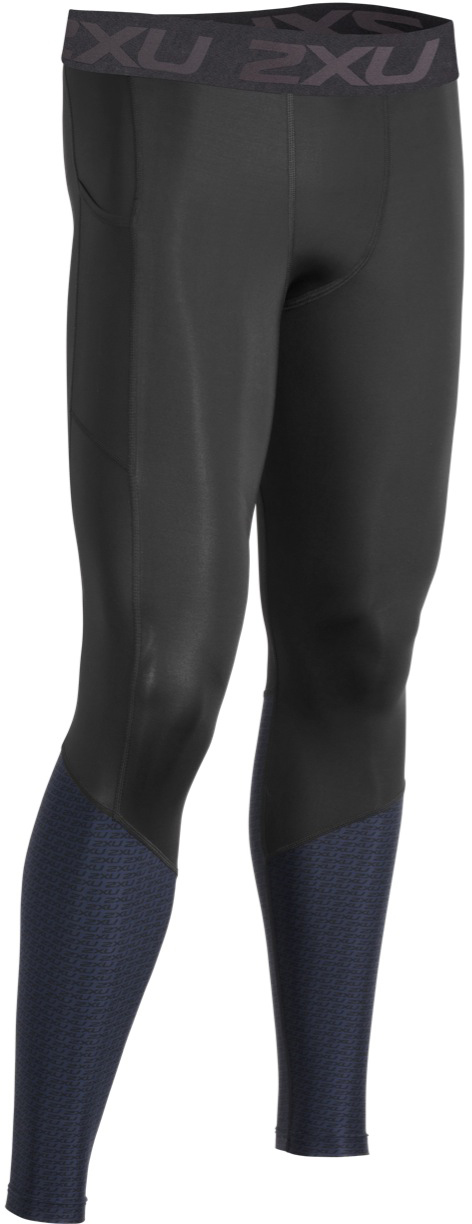 2XU Accelerate Compression Tights with Back Storage | Compression