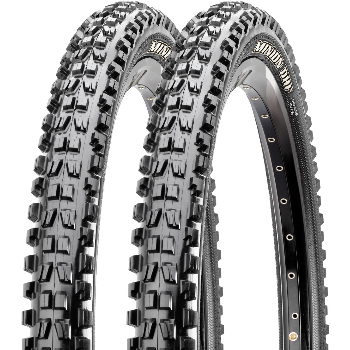 Maxxis Minion DHF 3C EXO TR Tyres - Pair   Tyres