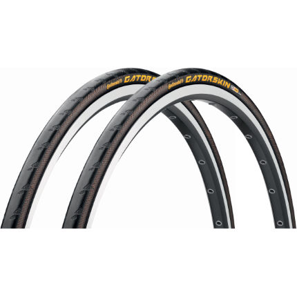 Continental GatorSkin Road Wire Bead Tyres 23c - Pair
