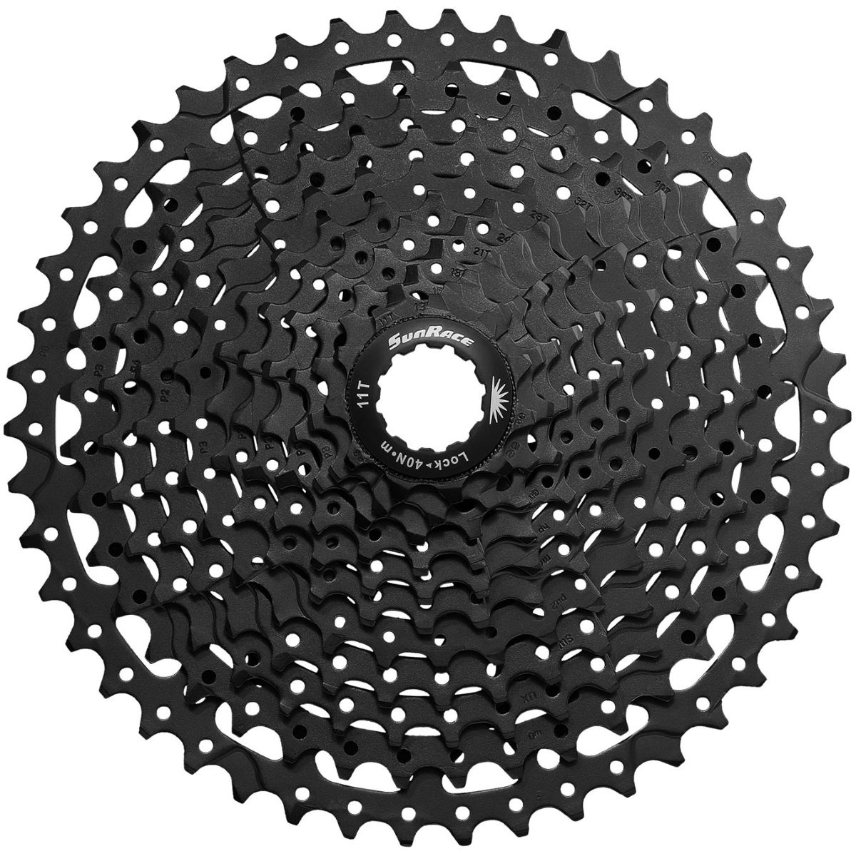 SunRace SunRace MS8 Wide-Ratio Cassette (11 Speed)   Cassettes