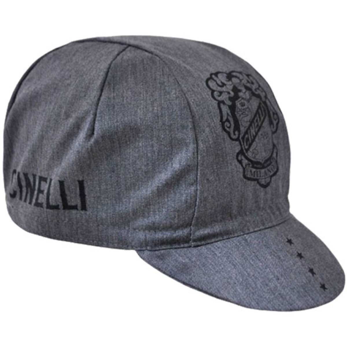 Cinelli Crest Cap Grey   Caps