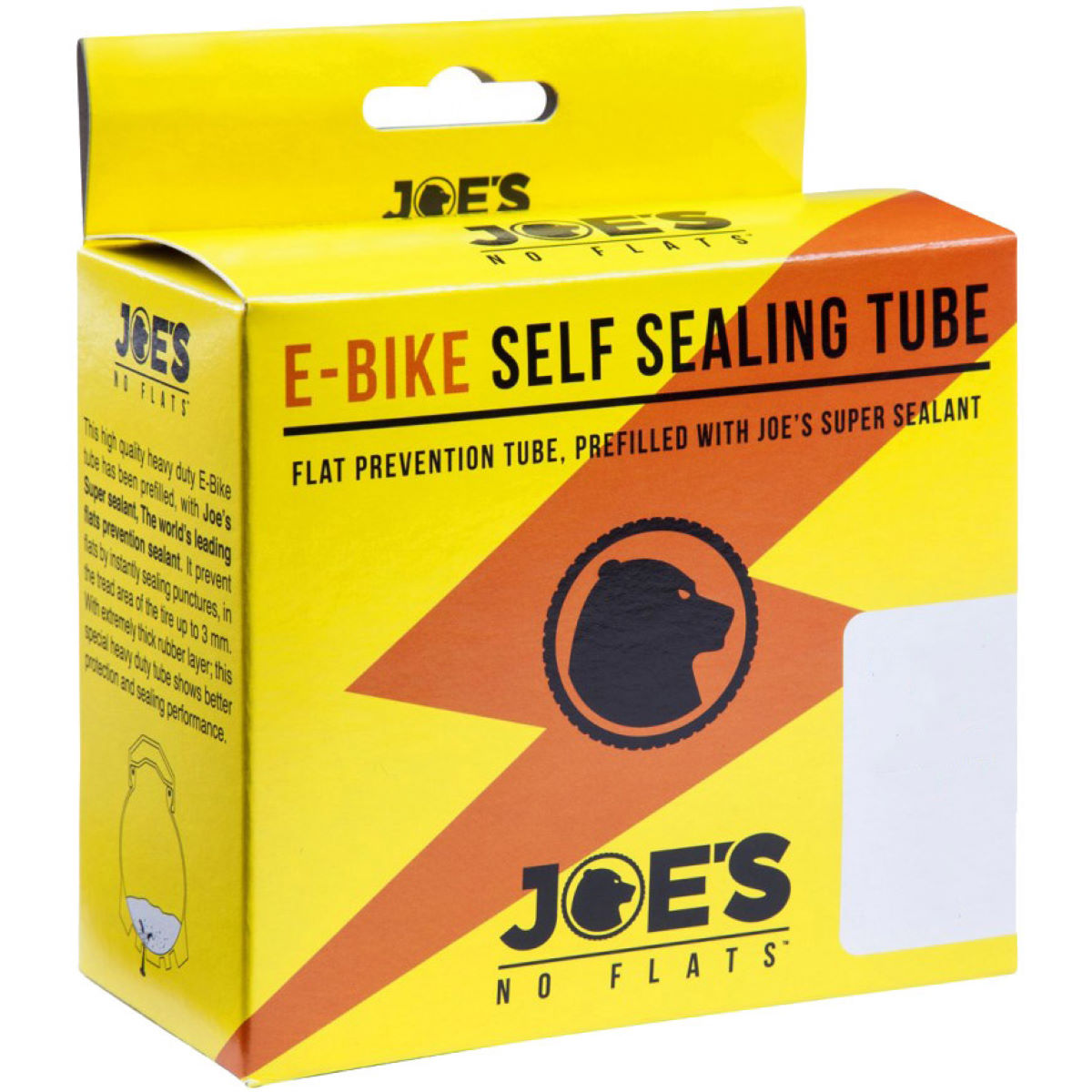 Joe's No Flats Self Sealing MTB Tube - Presta 48mm   Inner Tubes