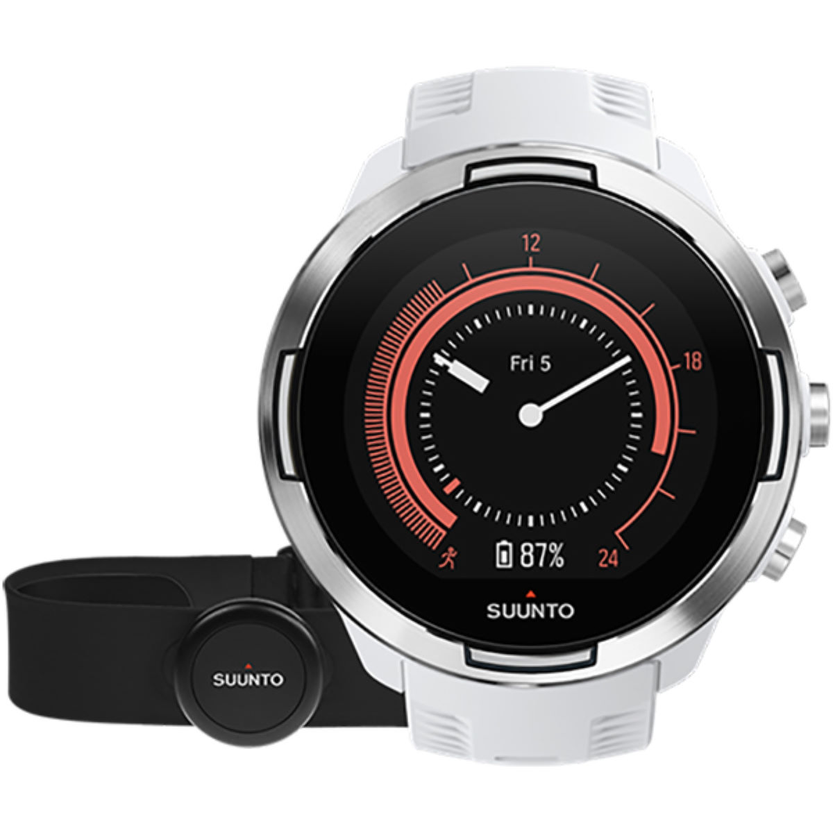Suunto 9 Baro GPS Multisport Watch Bundle - Relojes