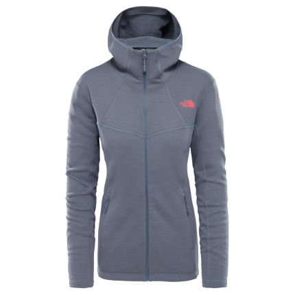 3f39e6cab The North Face Women's Inlux Wool (Full Zip) Hoody