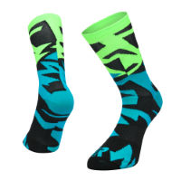 Ratio Fracture 20 cm Sock (Blue/Green)
