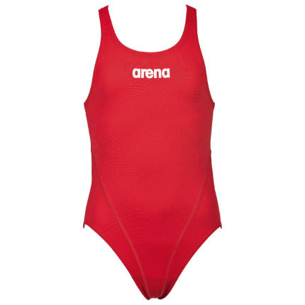 Arena Girls Solid Swim Tech Swimsuit