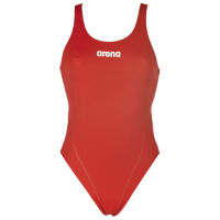 Arena Solid Swim Tech High Red/White