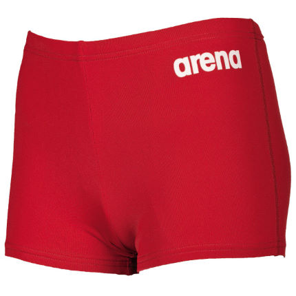 64816ea5ae Wiggle | Arena Solid Short Jr Red/White | Swimming Shorts