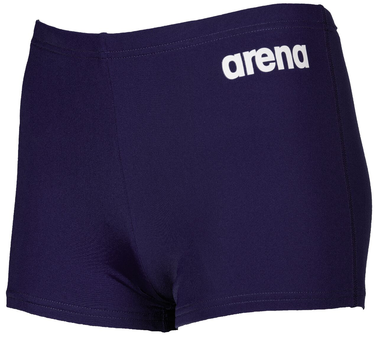 Arena Solid Short Jr Navy White | swim_clothes