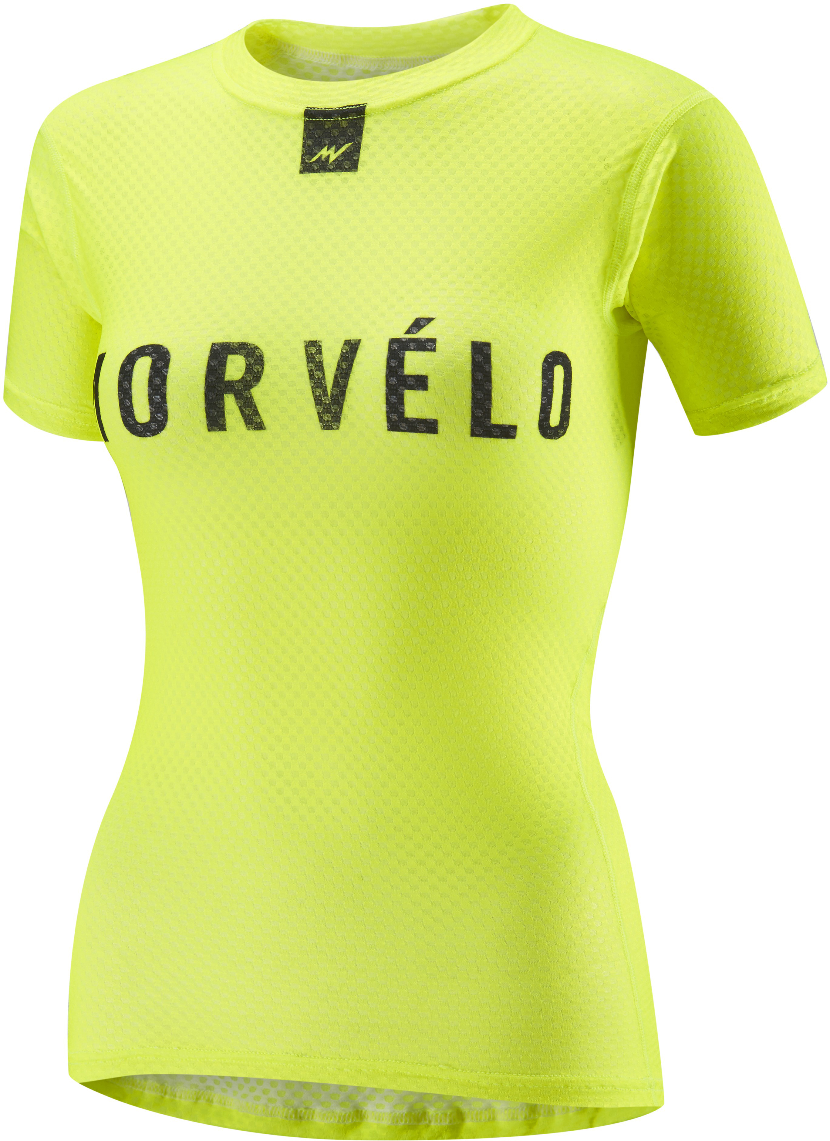 Morvelo Women's Definitive Fluro Short Sleeve Baselayer | Trøjer