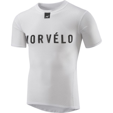 Morvelo Definitive White Short Sleeve Baselayer