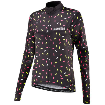 Morvelo Women's Strands Thermoactive Long Sleeve Jersey