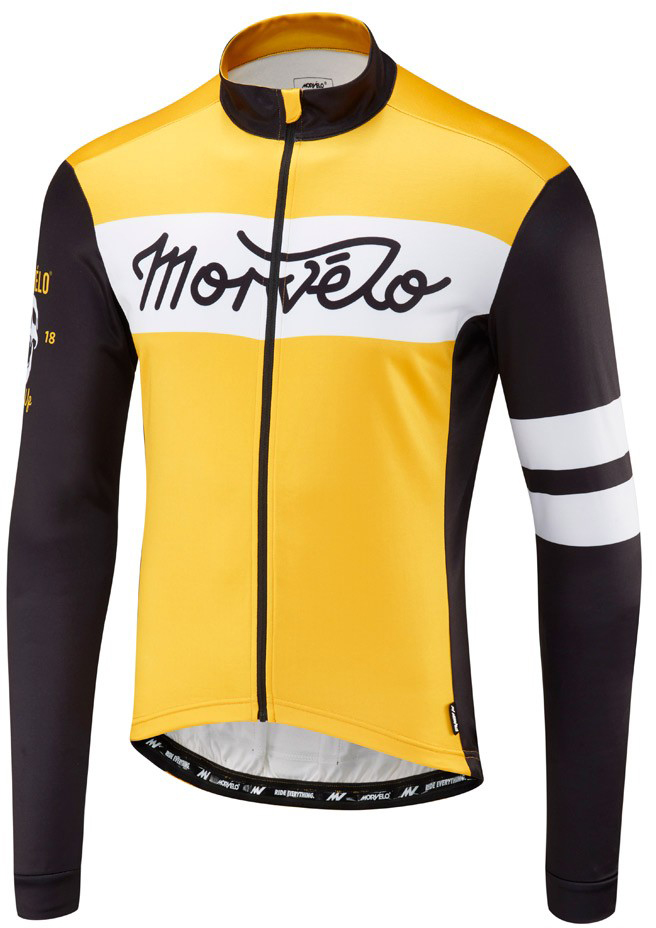 Morvelo Mostarda Thermoactive Long Sleeve Jersey | Trøjer