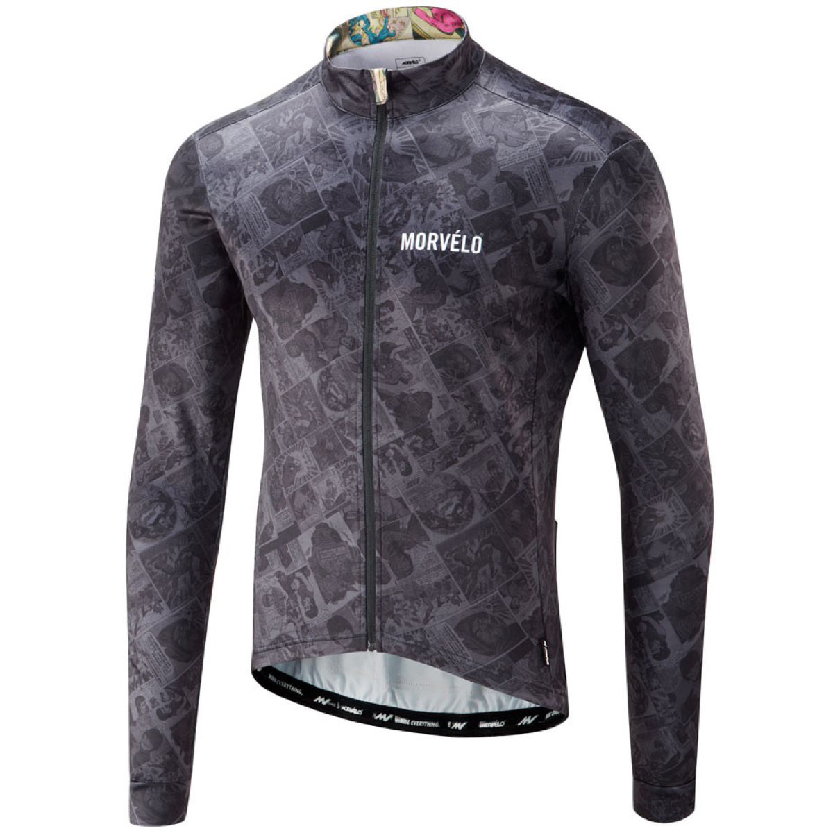 Morvelo Co-Mix Thermoactive Long Sleeve Jersey - Maillots