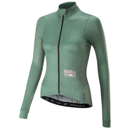 View in 360° 360° Play video. 1.  . 2. Green Pink  Women s Pimento Merino  Long Sleeve Jersey 068d0e554