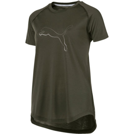 Puma Women's Run Short Sleeve Tee