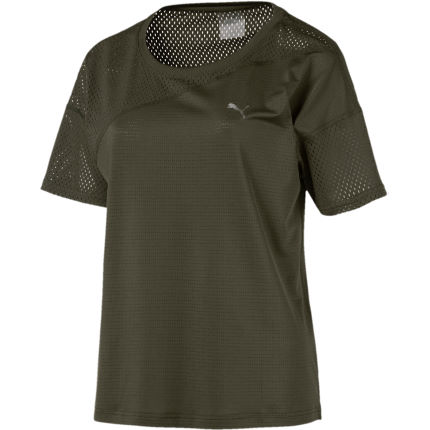 Puma Women's Mesh Blocked Tee