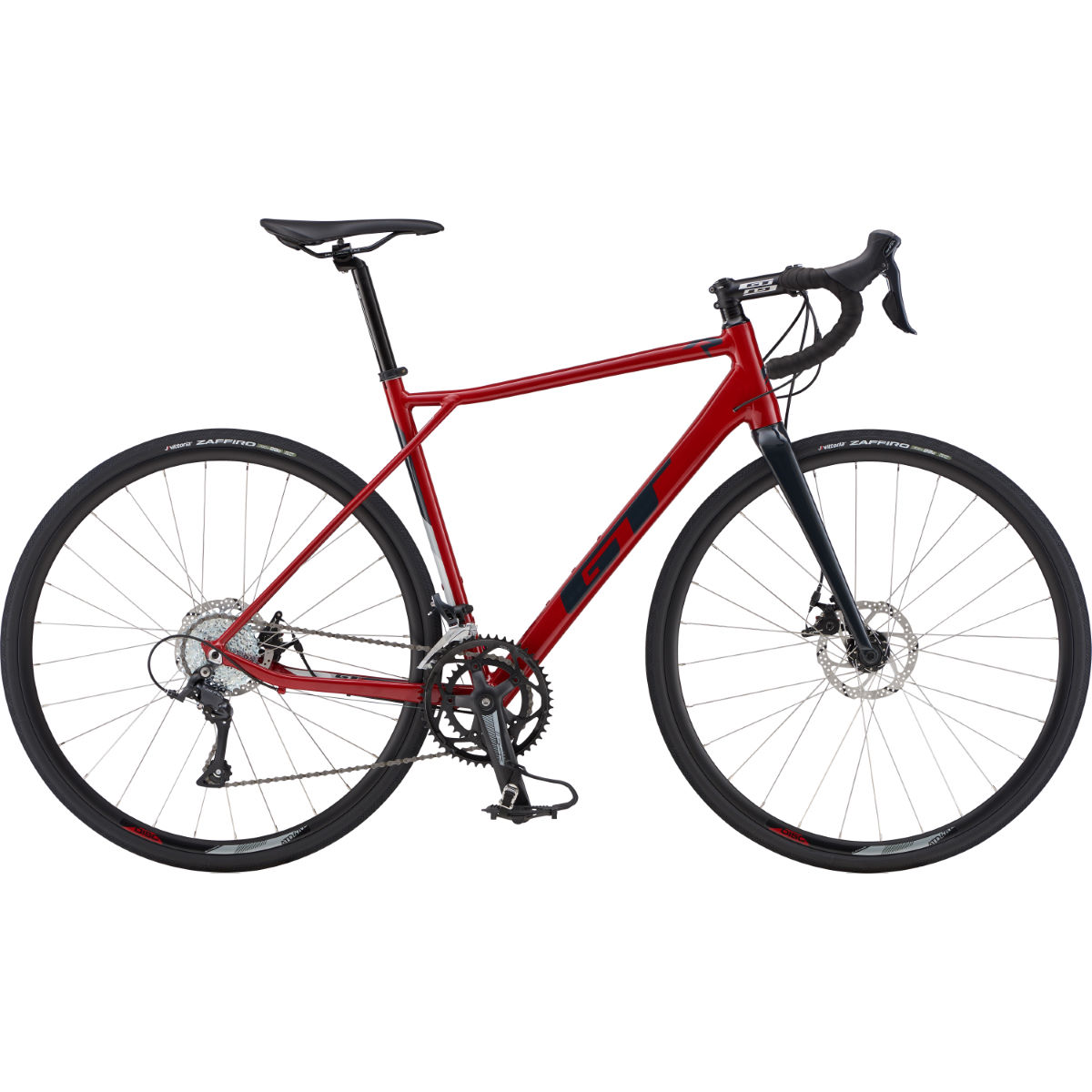 Image of Vélo de route GT GTR Comp (2019) - Large Gloss Red & Black