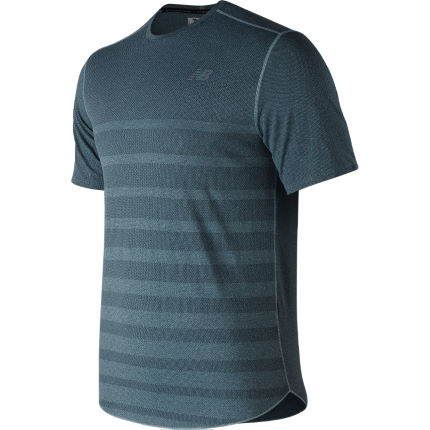 New Balance Q Speed Run Short Sleeve Top