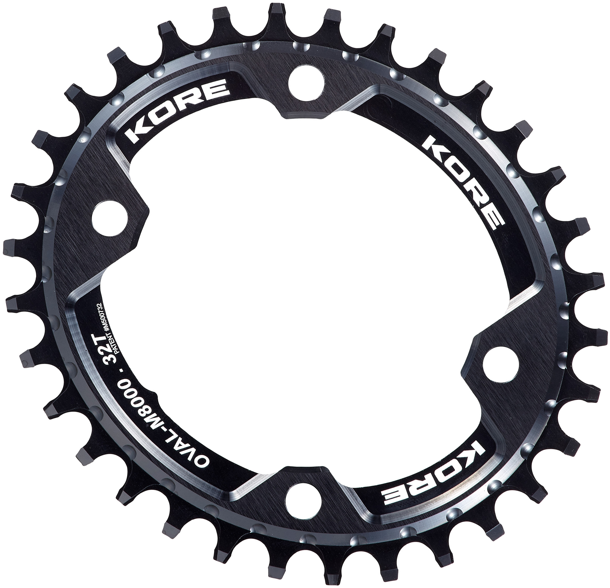 Kore Stronghold N/W Oval Chainring XT M8000 | chainrings_component