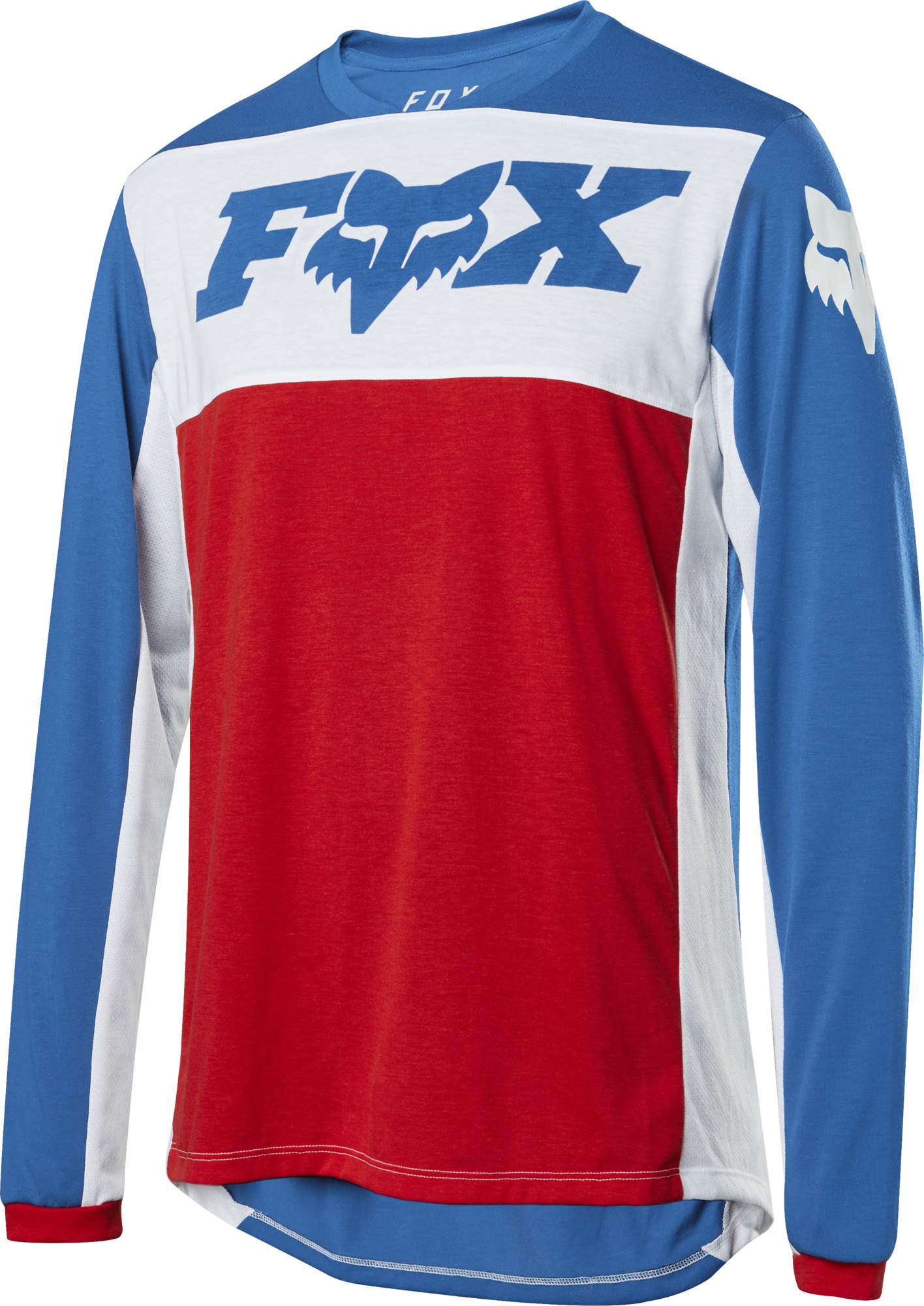 Fox Racing Indicator L//S Jersey Red