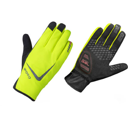GripGrab Hi Vis Cloudburst Waterproof Gloves