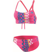 adidas Performance+ 2 Piece Allover Printed bikini