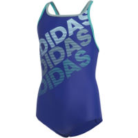 adidas Youth Girls 1 Piece Lineage Suit