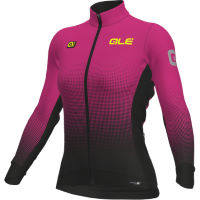 Alé Womens Dots DWR Long Sleeve Jersey Turq