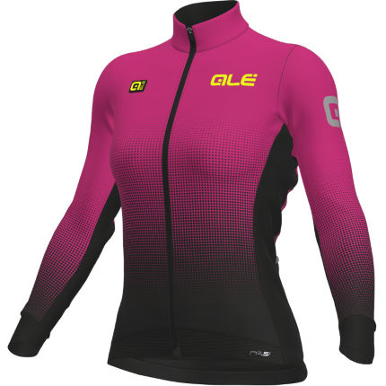 Alé Women's Dots DWR Long Sleeve Jersey Turq