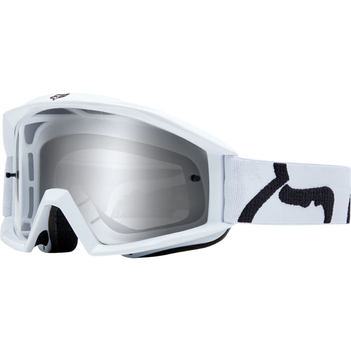 Fox Racing Main Goggle - Race - One Size White  Cycling Goggles