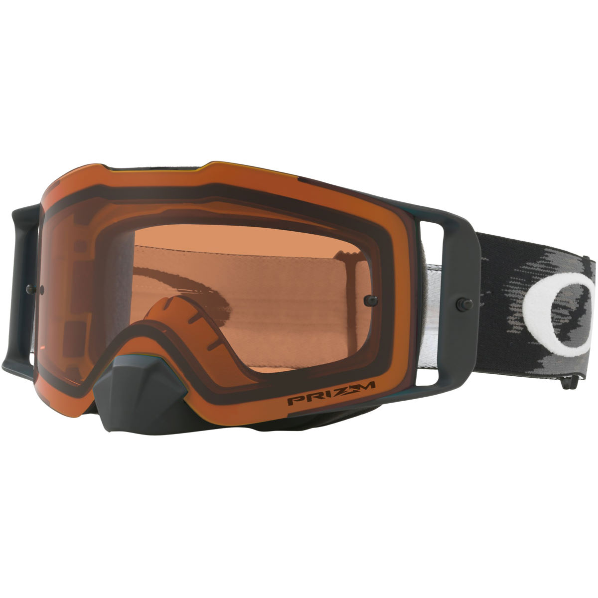 Oakley Oakley FRONT LINE MX Prizm MX Bronze Goggles   Cycling Goggles