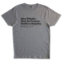 Velolove Grand Tours Organic T-Shirt