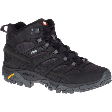 2a063eb04a View in 360° 360° Play video. 1. /. 1. Merrell's Moab 2 Smooth Mid GTX Boots  ...