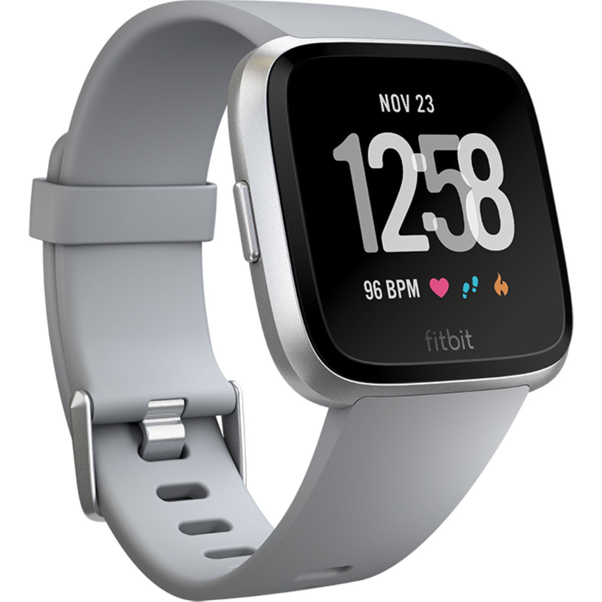 Image of Montre Fitbit Versa - One Size Grey / Silver | Montres