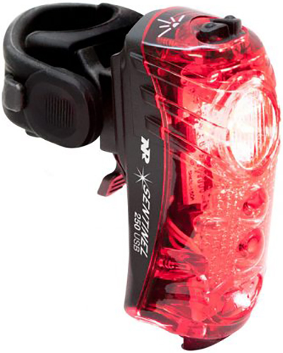 NiteRider Sentinel 250 Rear Light | Computer Battery and Charger