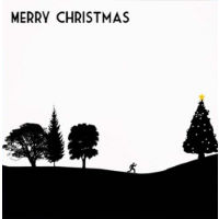 Worry Less Designs Christmas Runner Christmas Card